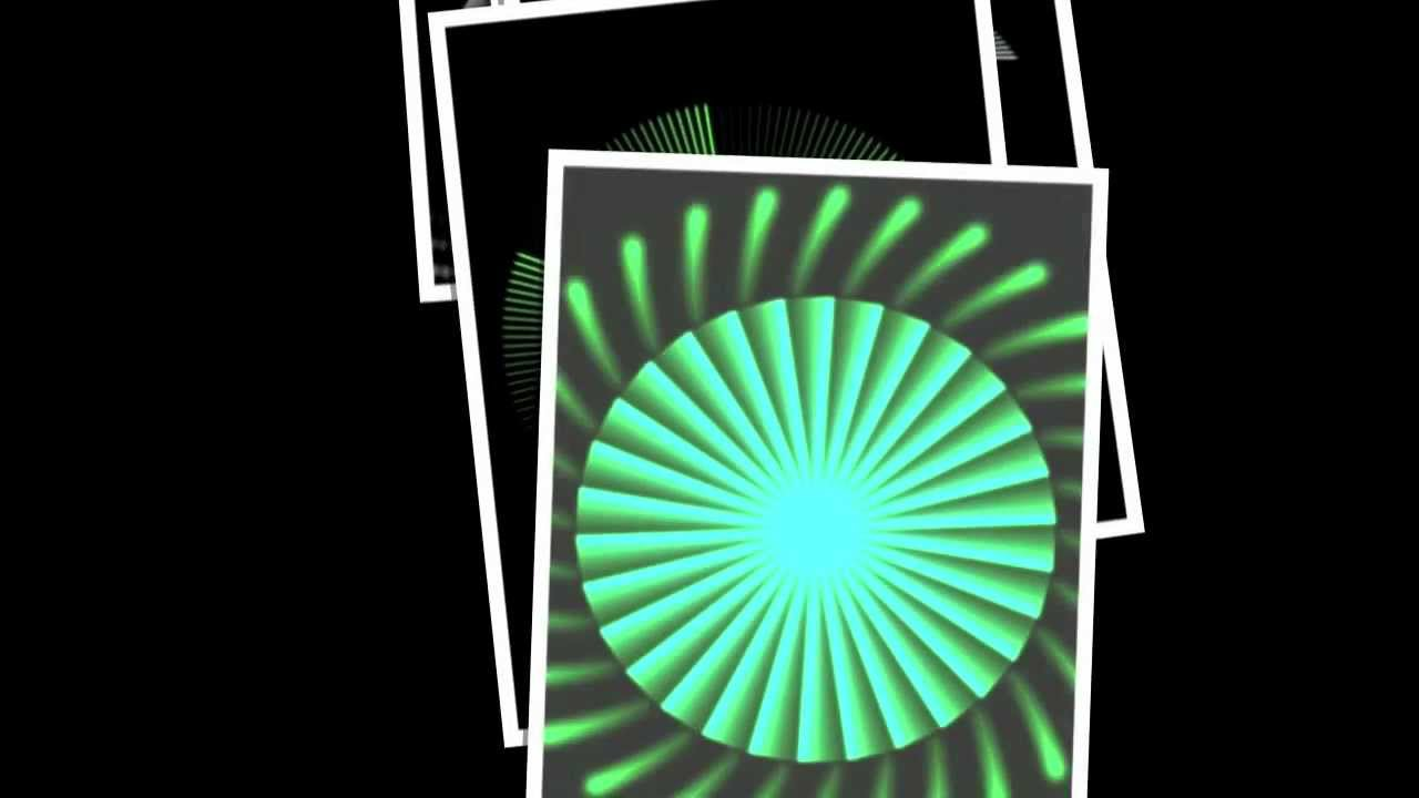 Best Apps 2012 - Stunning Wallpaper Slideshow For Geometrica Visualizer iPhone 4S App