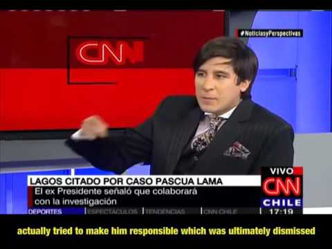 CNN Interview: Lawyer Juan Guillermo Torres Fuentealba about Pascua Lama Fraud