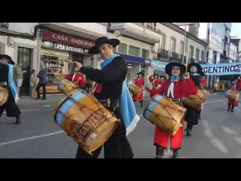El Festival Internacional de Folklore llena de color Vilalba