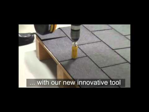 EJOT Solar Flashing for asphalt shingles