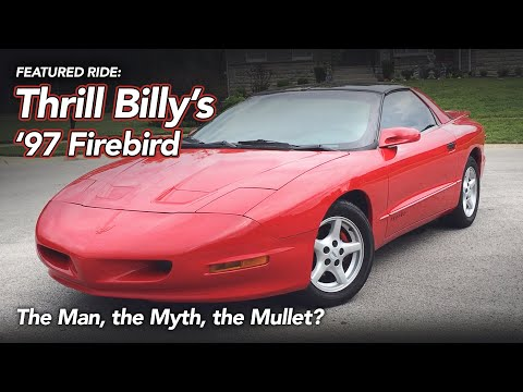 1997 Pontiac Firebird Review - The Man, The Myth, The Mullet?