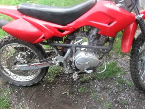 my honda 125cc 4 stroke - youtube