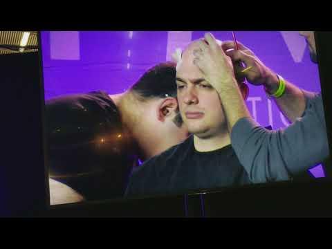 IMATS Louie Zakarian Prosthetic Makeup Demo.