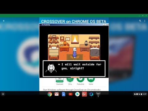 How to get DELTARUNE on a Chromebook!