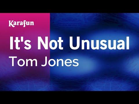 Karaoke It's Not Unusual - Tom Jones *