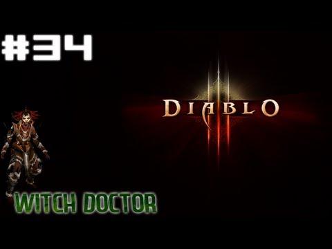 Diablo 3 - Witch Doctor Walkthrough Part 34 - Flooded Cave