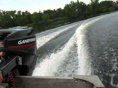 1996 Force Gamefisher 15hp Outboard Motor