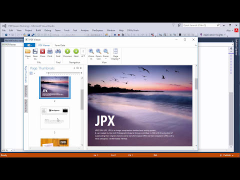 DevExpress WPF PDF Viewer: Getting Started - YouTube