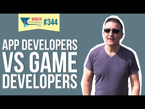 App Developers Vs Game Developers