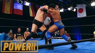 Trevor Murdoch vs Fred Rosser - Full Match   NWA Powerrr S5E7