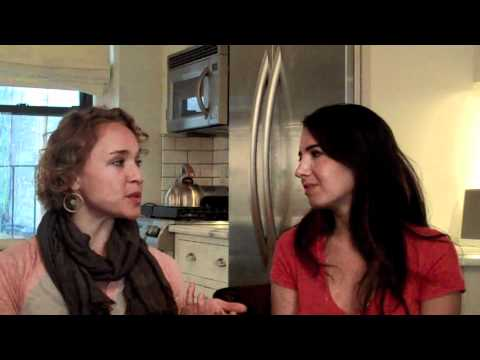 Marie Forleo of Rich Happy and Hot B-School and Kate Northrup on Glimpse TV