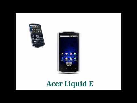smartphone Acer Liquid E y E-130.wmv