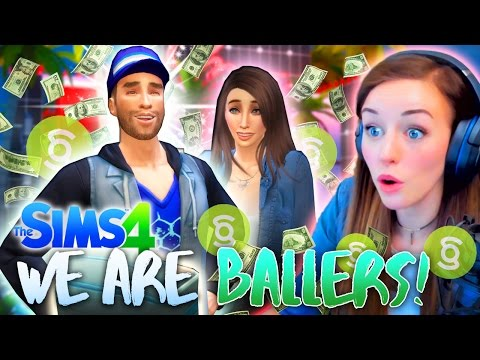 🤑 WE ARE BALLERS! 💰 ALI FINALLY GOES PRO! 😎 (The Sims 4 #8! 🏡)
