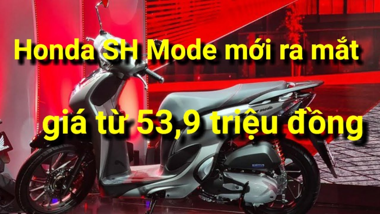Honda SH Mode 2020 mới, đẹp lung linh, ngập tràn công nghệ mới