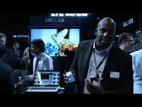 MWC 2012 - LG Optimus LTE