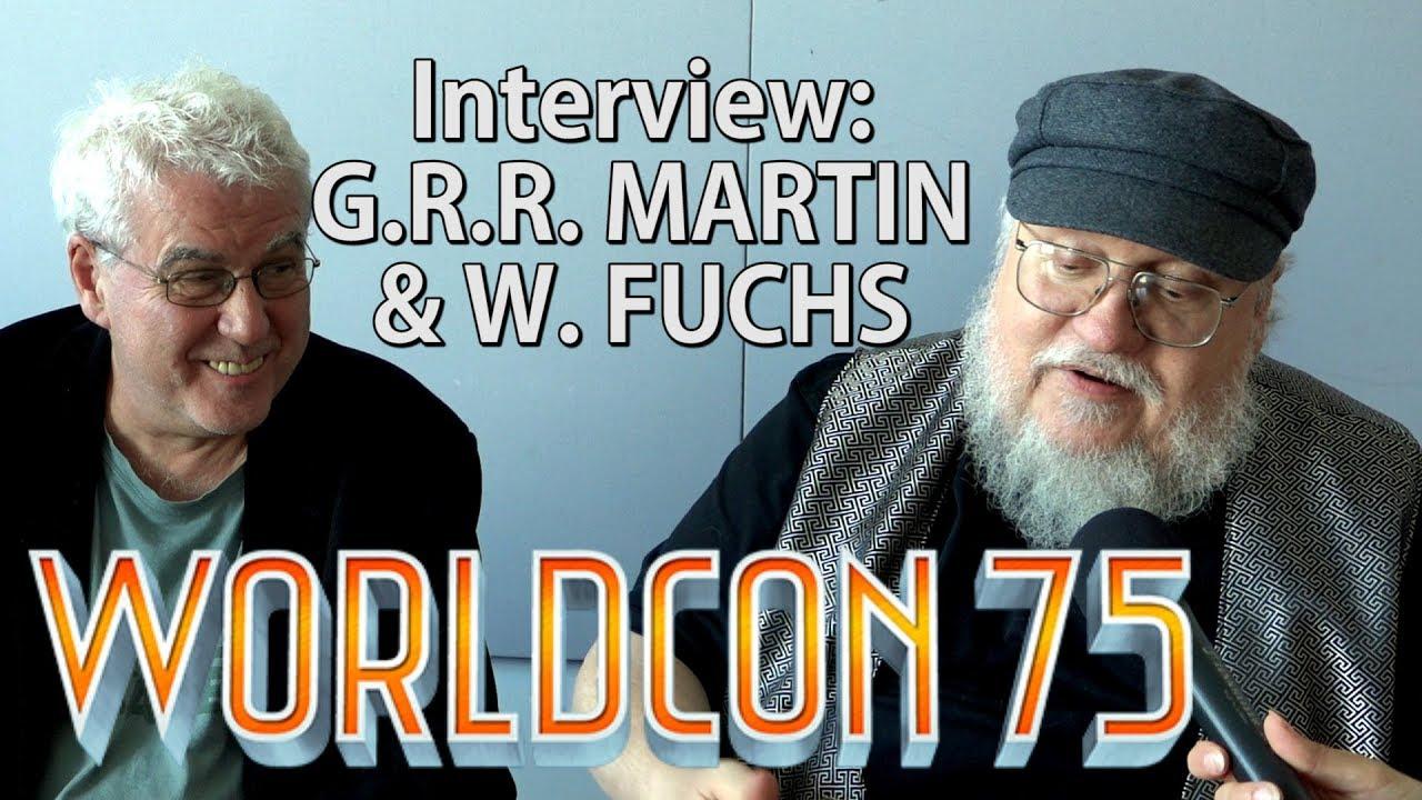 G.R.R. Martin Interview: Pen and Paper RPGs, The Dark Eye, deutsche Übersetzungen