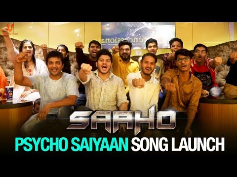 Psycho Saiyaan Song Launch | Saaho Movie | Prabhas | Shraddha Kapoor | Sujeeth | UV Creations