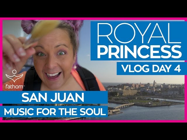 Royal Princess | Crown Grill & Music for the Soul in San Juan | Cruise Vlog Day 04