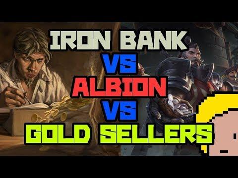 ALBION VS GOLD SELLERS VS IRON BANK GUILD