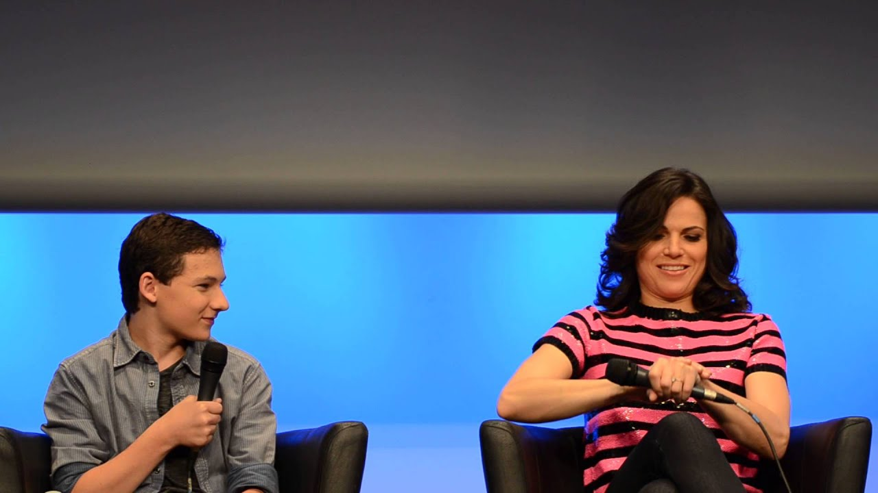 "Jared Gilmore & Lana Parrilla - ""It's complicated ..."