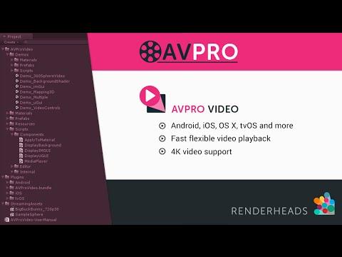 Renderheads – AVPro Video