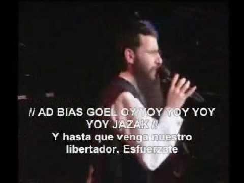 abraham fried-JAZAK letra español