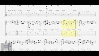 Chỉ còn những mùa nhớ guitar solo tab by D U Y ST: Minh Min