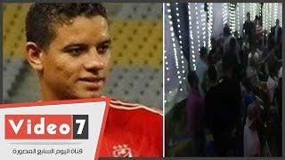 بالفيديو.. حصريا.. المشاهد الأولى لحفل زفاف سعد سمير