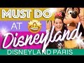 TOP 5 MUST DO in Disneyland Paris | First Time Visit? Don't miss out!