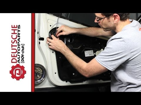 Drivers Front Door Latch Replacement MK4 Jetta (Also tips about Alarm related problems on your VW)
