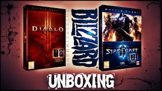 STARCRAFT 2 & DIABLO 3 BATTLE CHEST - UNBOXING