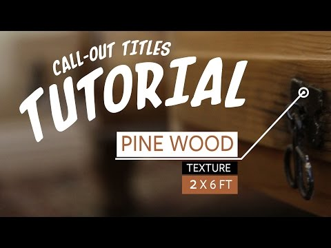Call-Out Titles After Effects Tutorial + Free Template