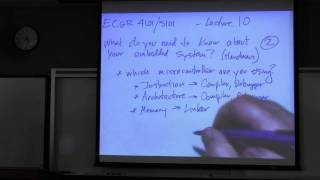 Embedded Systems Course - Lecture 10:  Software Development Tools