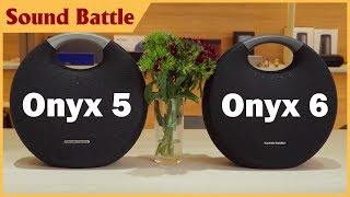 harman Kardon Onyx Studio 6 vs Onyx Studio 5 So snh m Thanh - Comparing Sound