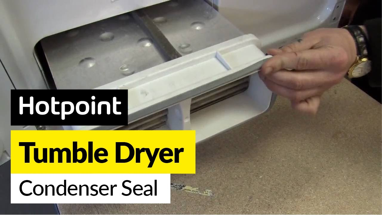 How To Replace The Tumble Dryer Condenser Seal On A