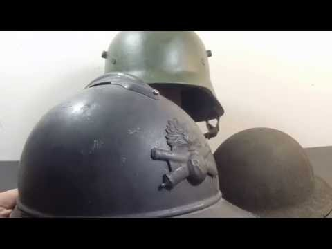 The First Three Combat Helmets of Modern Warfare: Stahlhelm, Adrian,and Brodie