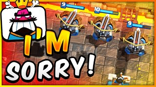 MIRROR XBOW CYCLE in CLASH ROYALE?! 😱