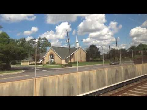 MARTA: On-Board Doraville-bound Gold Line train from Airport to Five Points