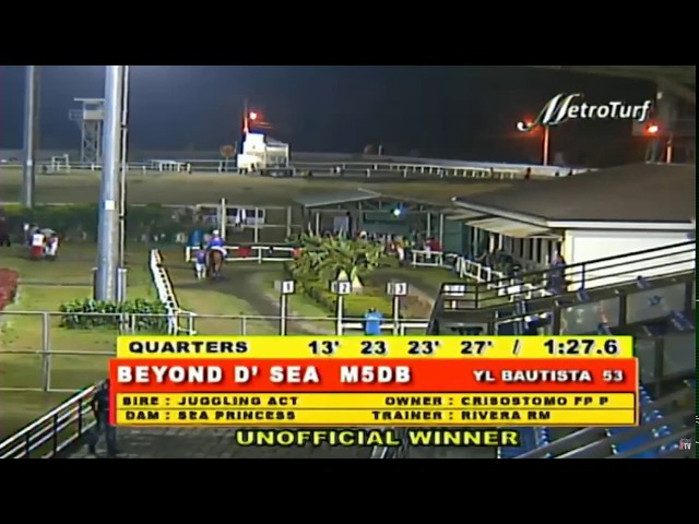BEYOND D' SEA - RACE 4 - MMTCI HORSE RACING REPLAY - MARCH 12, 2020 BAYANG KARERISTA