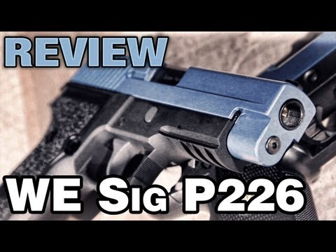 WE Sig P226 2Tone Airsoft   EpicAirsoftHD
