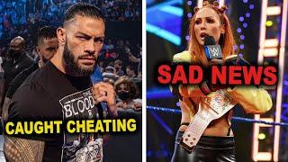 Roman Reigns Embarrassingly Gets Caught Cheating Becky Lynch Sad News Shocks Fans