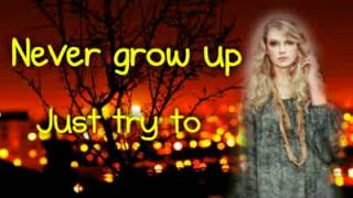 Taylor Swift   Never Grow Up {LYRICS}   No pitch shift!   + Ringtone Download