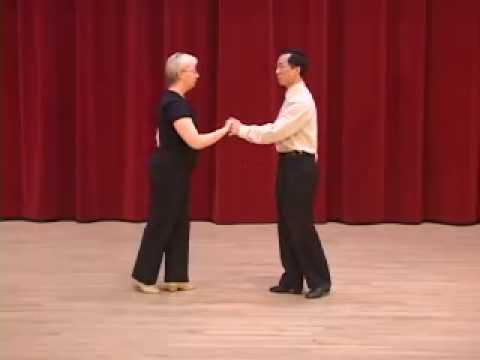 Silver Mambo - Open Break & Underarm Turn Ballroom Dance Lesson