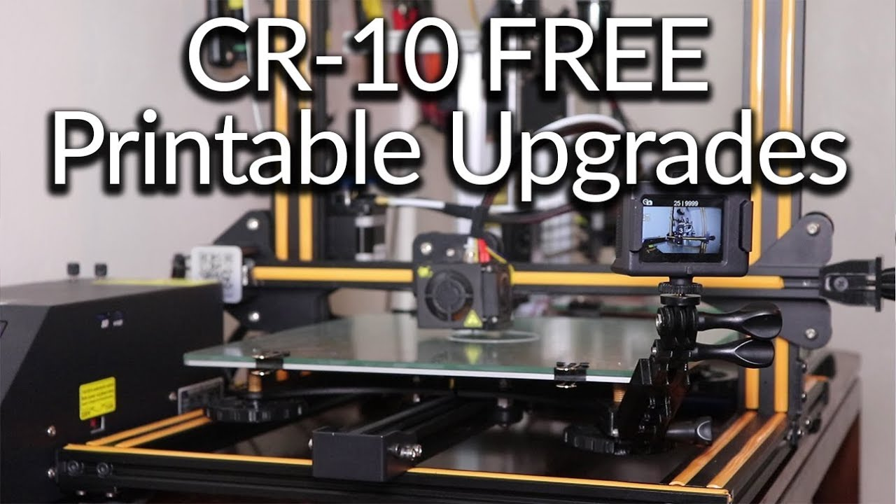 Free Upgrades for CR-10