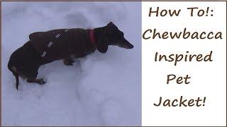 Sewing Nerd! - Tutorial: Chewbacca Inpsired Pet Jacket!