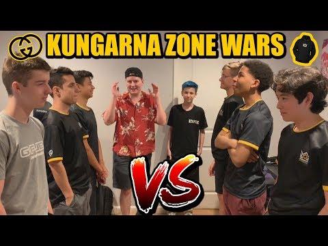 KNG Zone Wars IRL Challenge