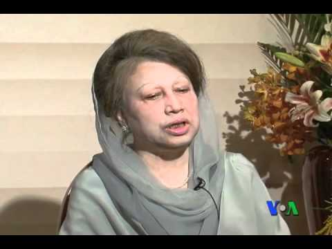 Khaleda Zia's Exclusive Interview with VOA