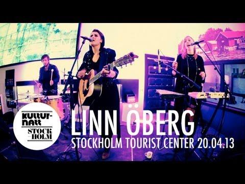 Linn Öberg live at Stockholm Tourist Center, Kulturnatt 2013