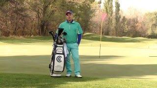 Уроки гольфа с Константином Лифановым - АлмаTV. Урок 1