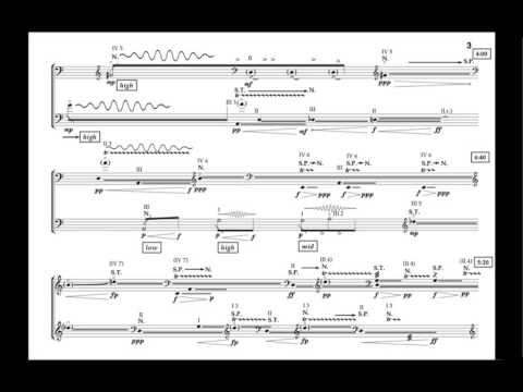 Conjoined for two Double Basses [with score]